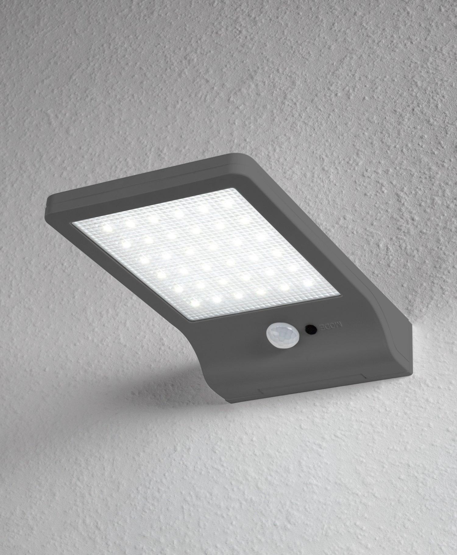 Applique solaire Doorled 320 Lumen argent LEDVANCE