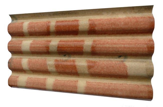 Plaque De Toiture Petite Onde Fibrociment L 0 96 X L 1 65 M Callibo Leroy Merlin