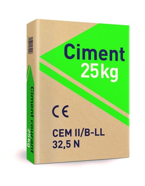 Ciment Gris Ce 25 Kg Leroy Merlin
