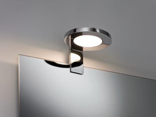 Applique Design Metal Chrome Led Integree Paulmann Galeria Ring Leroy Merlin