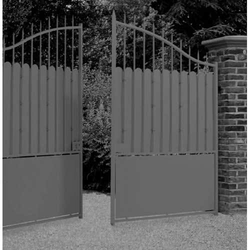 installation portail  MACOURIA TONATE