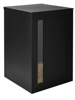 Image : Réservoir à granulés noir DIXNEUF Titan l.40 x H.63 cm