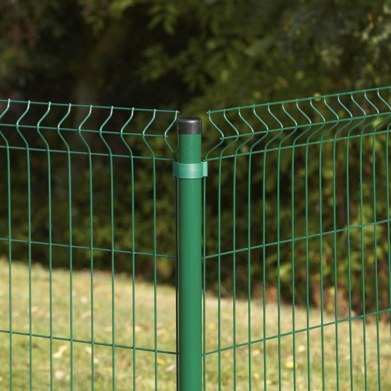 kit grillage rigide 20 m à sceller arista vert h1 m