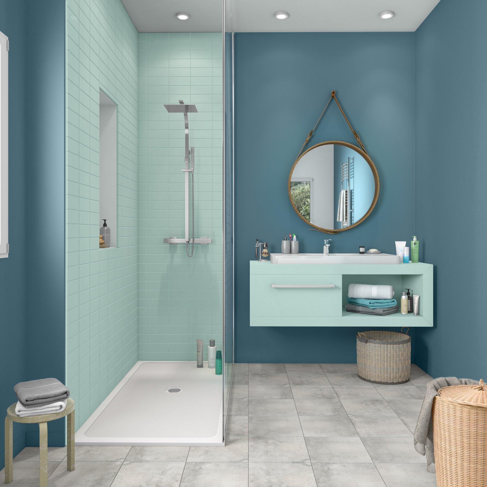Peinture salle de bains carrelage et meuble LUXENS laguna 16 satiné 16.716 l