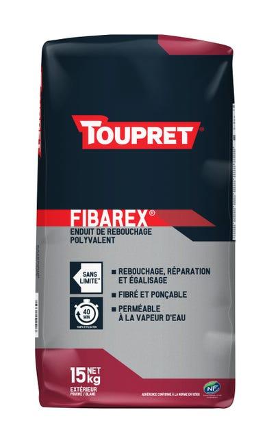 Enduit De Rebouchage Toupret Fibarex 15 Kg En Poudre Pour Facade Exterieur Leroy Merlin