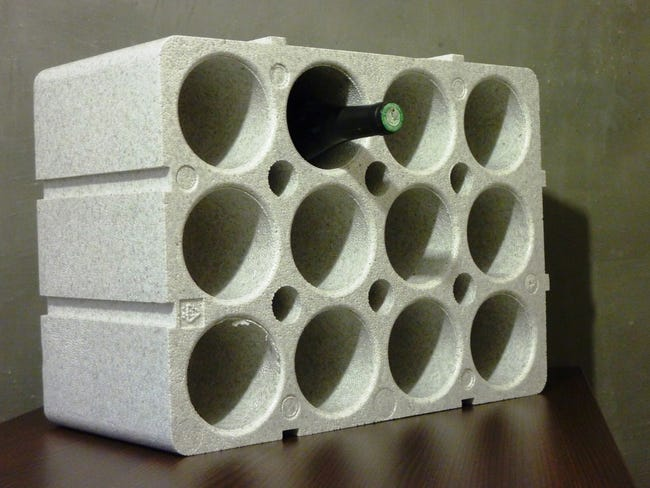 Casier 12 Bouteilles Polystyrene Leroy Merlin