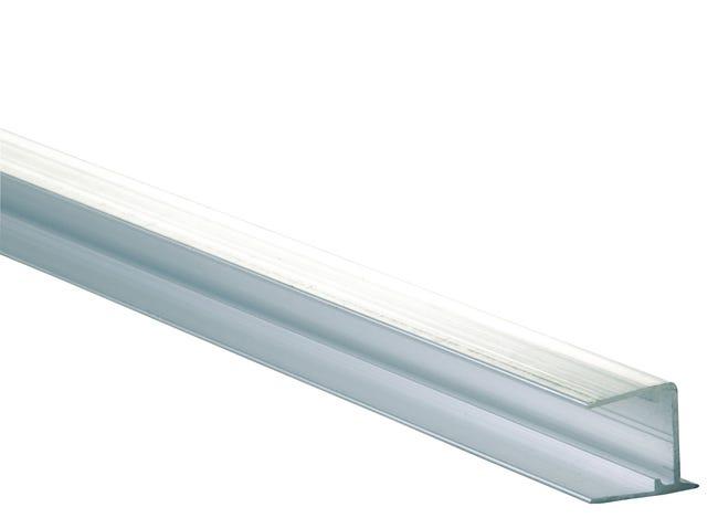 Profil Obturateur Pour Plaque Ep 16 Mm Aluminium L 0 98 M Leroy Merlin