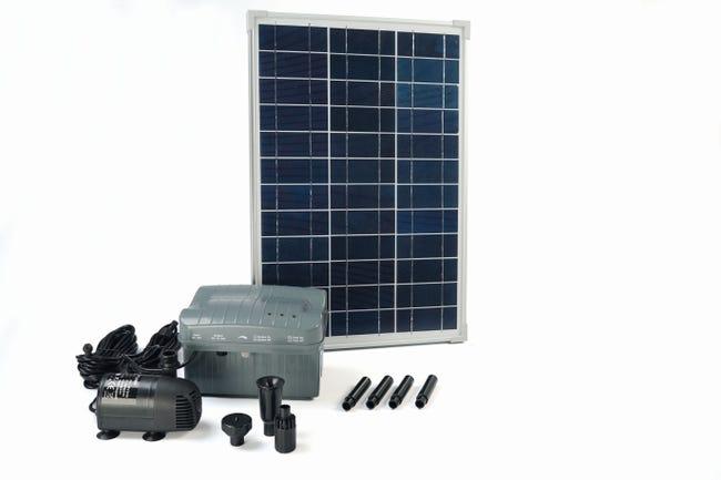Pompe De Bassin Solaire Solarmax 1000 Debit De 1350 L Leroy Merlin