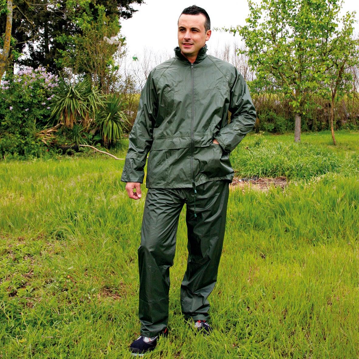 Vêtements de pluie de jardinage, ensemble imperméable