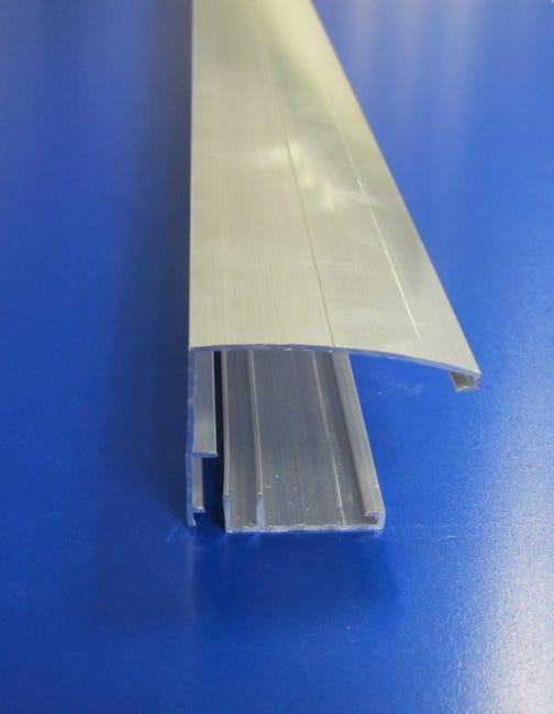 Profil Bordure Pour Plaque Ep 16 32 Mm Aluminium L 4 M Leroy Merlin
