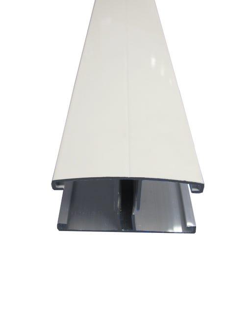 Profil Jonction Pour Plaque Ep 16 32 Mm Blanc L 4 M Leroy Merlin