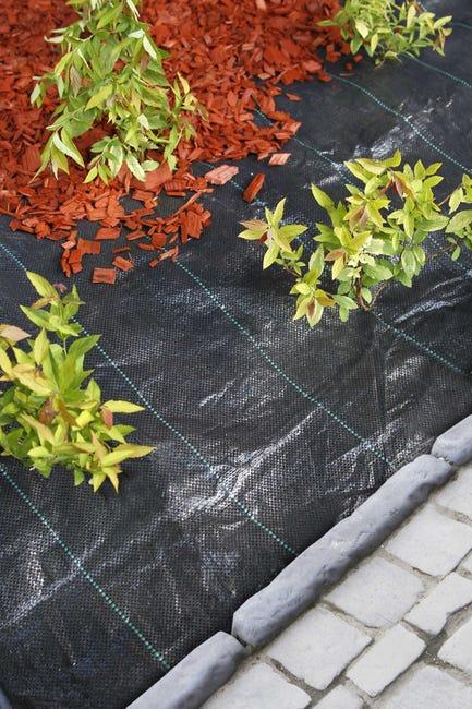 Nature Toile De Paillage Paysages Pp Tisse Noir 5 2 X 5m Leroy Merlin