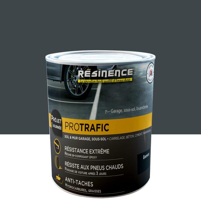 Peinture Exterieur Interieur Protrafic Resinence Graphite Satine 2 L Leroy Merlin