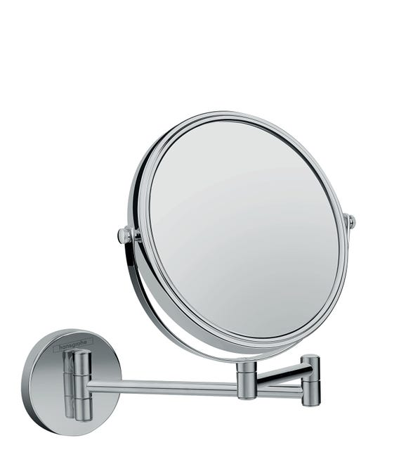 Miroir Grossissant X 3 Rond A Fixer Avec Percage Logis Universal Chrome Leroy Merlin