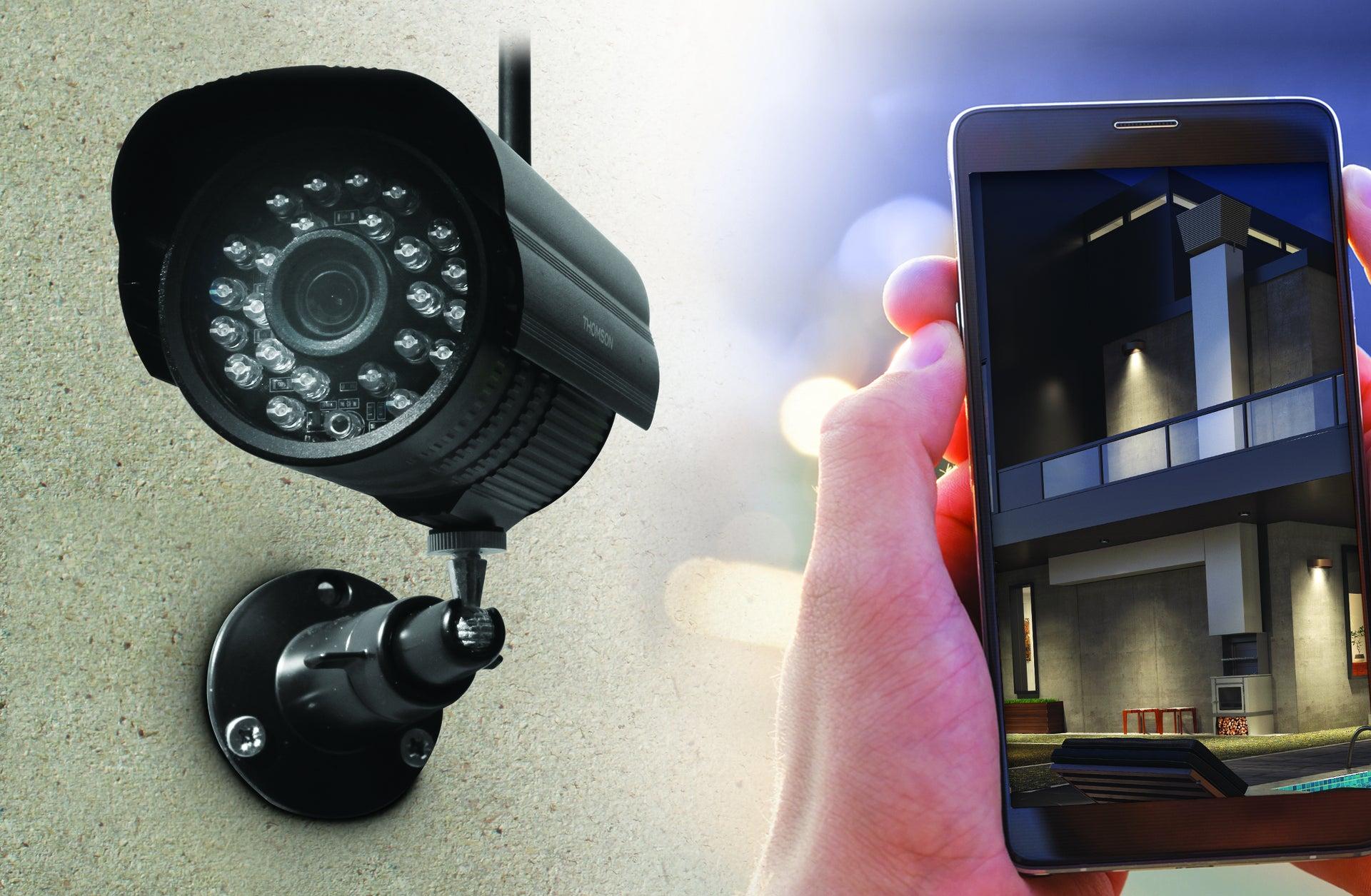 vidéosurveillance extérieur