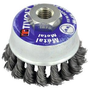 Brosse Torsade Technic Pour Metal Tivoly Diam 95 Mm Xt202520133 Leroy Merlin