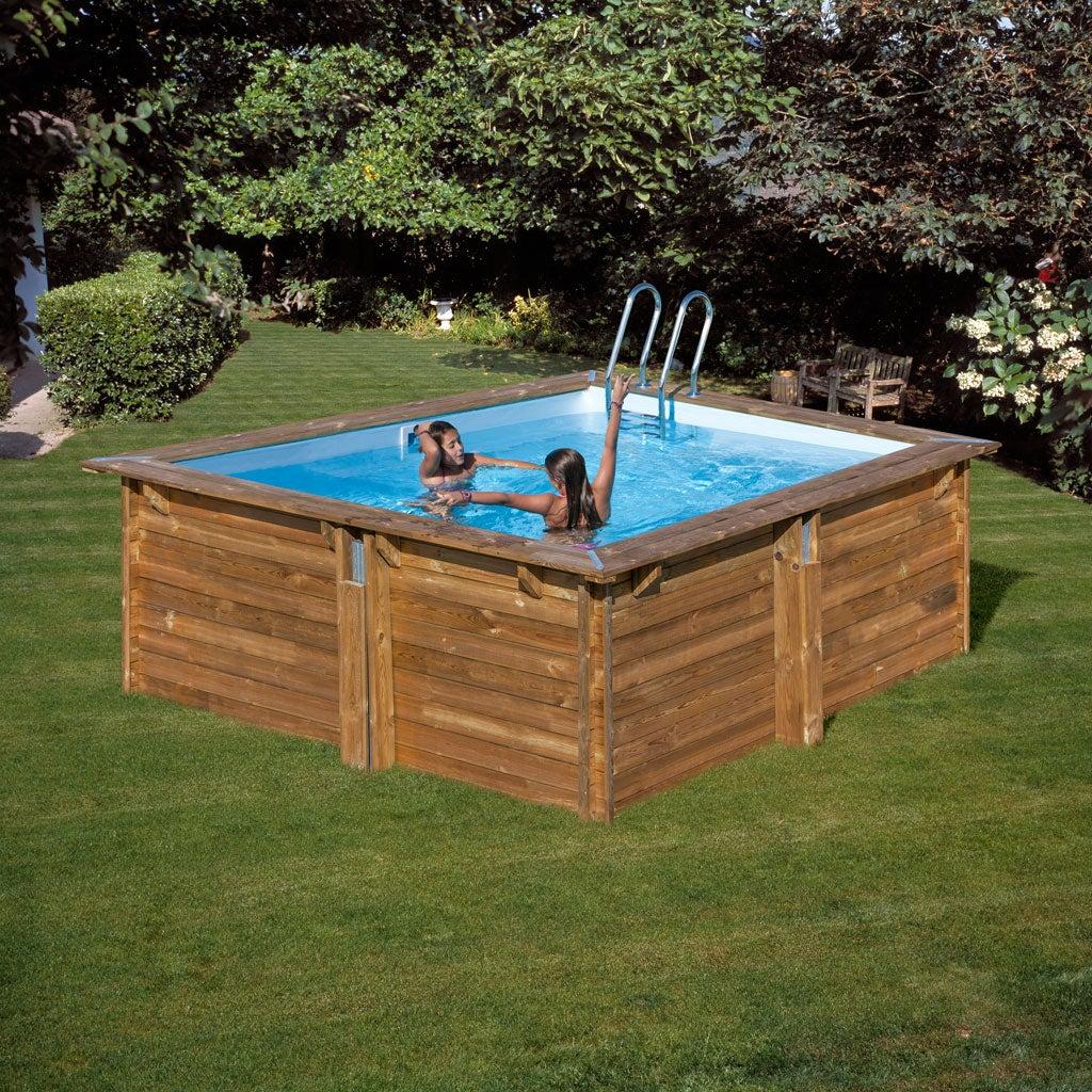 Avis piscine hors sol composite gre  Leroy Merlin