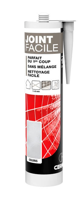 Joint Pate Carrelage Cermix Ivoire 310 Ml Joint Facile Ivoire 1m Leroy Merlin