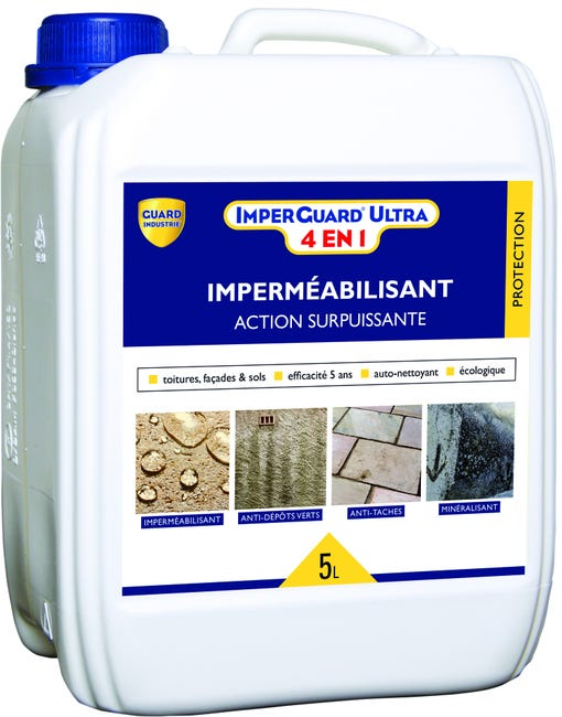 Impermeabilisant Imperguard Ultra 4 En 1 5l Guard Industrie 5 L Leroy Merlin