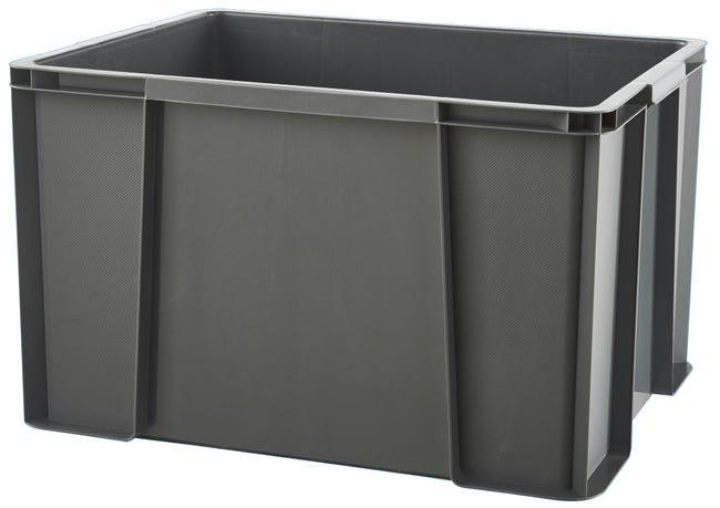 Bac De Manutention De Rangement Plastique Masterbox L 61 X P 44 X H 33 Cm 75 L Leroy Merlin
