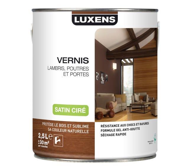 Vernis Poutre Et Lambris Luxens Chene Clair Satine 2 5l Leroy Merlin