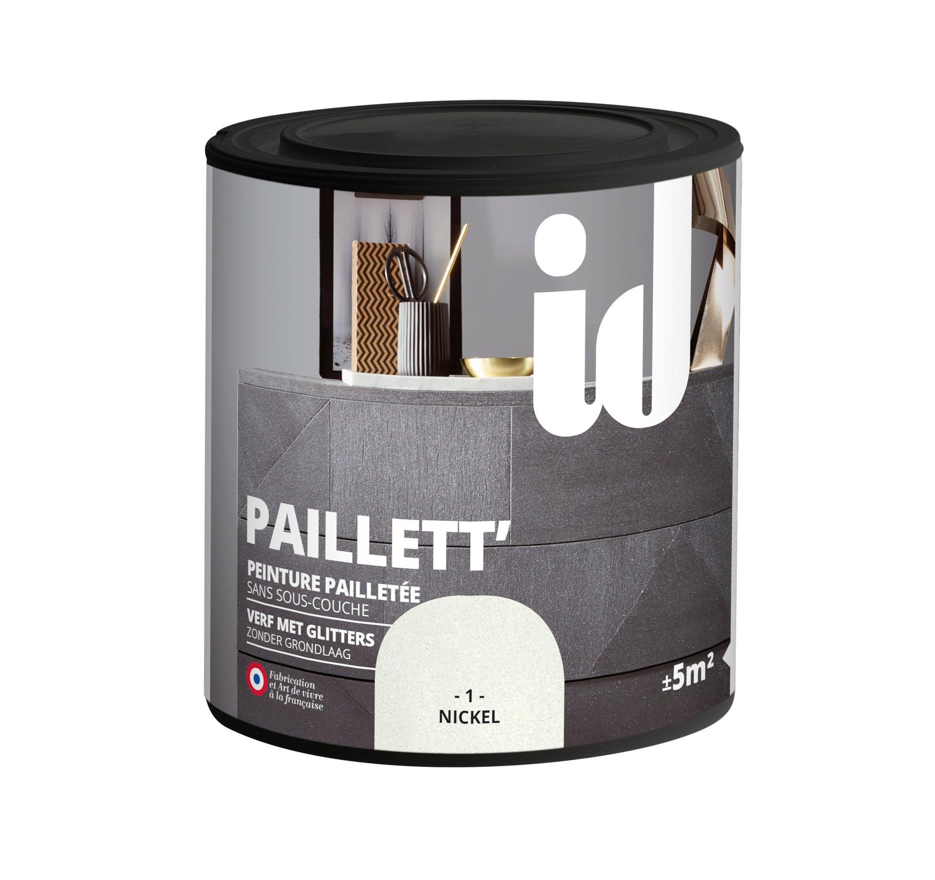 Peinture Meuble Et Boiserie Paillett Id Plomb Paillete 0 5 L Leroy Merlin