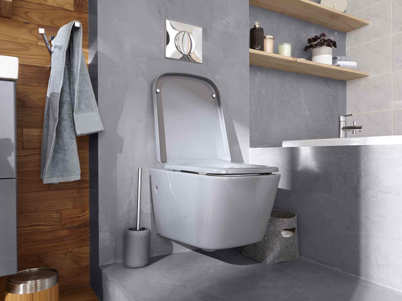 Idee Papier Peint Wc 10 idées déco pour les wc | leroy merlin
