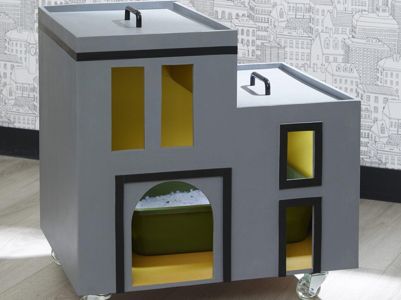 Arbre A Chat Leroy Merlin diy : créer une litière mobile pour chat | leroy merlin