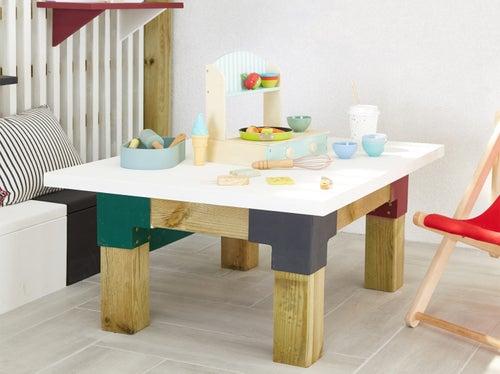 DIY : créer une table basse extérieure | Leroy Merlin