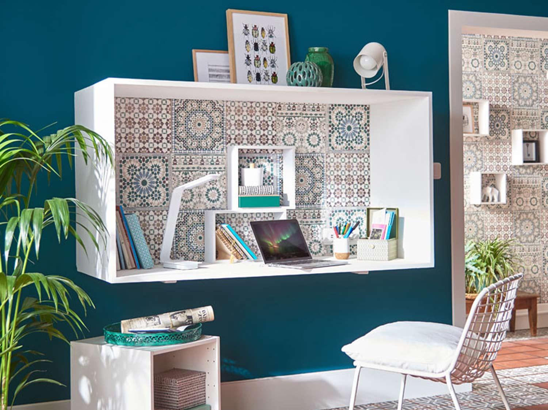 Bureau Informatique Petit Espace aménager un espace bureau : 12 idées déco | leroy merlin