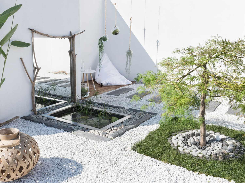 Creer Un Coin Zen Dans Son Jardin aménager un jardin japonais chez soi   leroy merlin