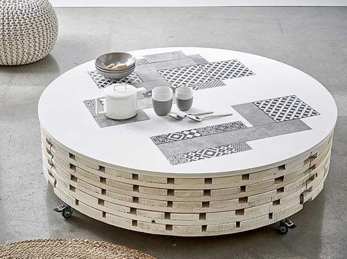 DIY : créer une table basse avec de la mosaïque | Leroy Merlin