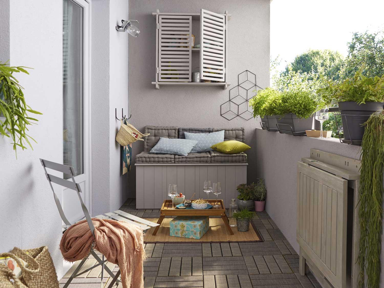 Terrasse En Palette Duree De Vie tout savoir sur l'aménagement de son balcon | leroy merlin