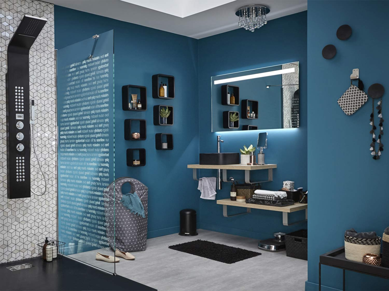 Mon projet salle de bains en 15 étapes  Leroy Merlin