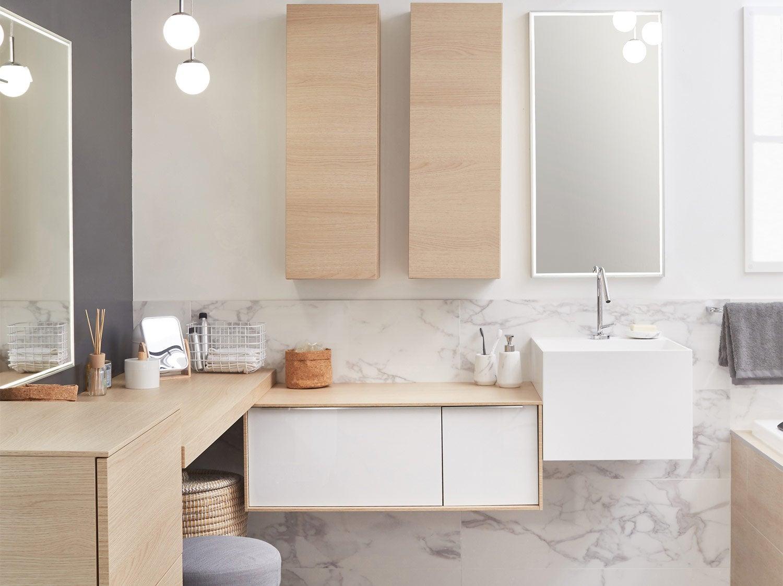 Mon projet meuble de salle de bains en 15 étapes  Leroy Merlin