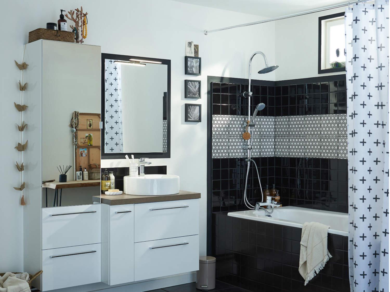 Comment choisir son rideau de douche ?  Leroy Merlin