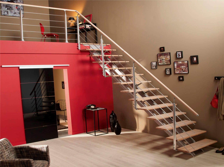 Escalier En Bois Avec Rangement comment choisir son escalier ? | leroy merlin