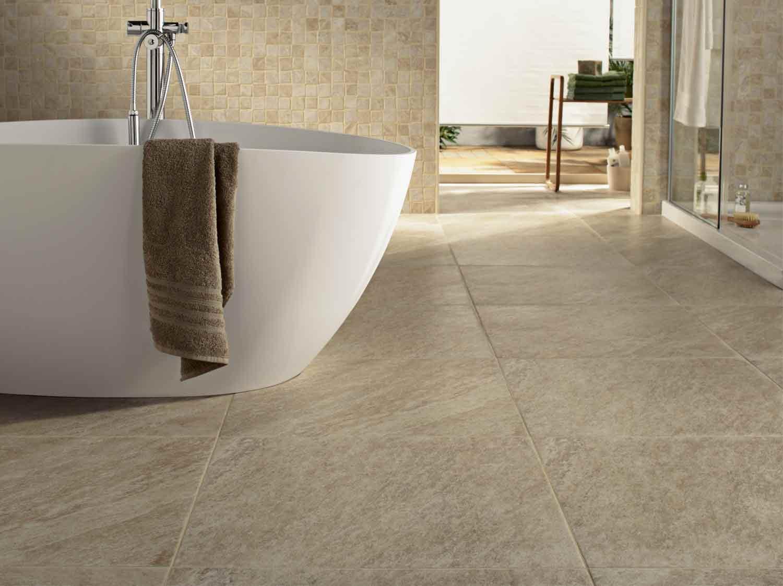 Salle De Bain Revetement comment choisir son sol de salle de bains ? | leroy merlin