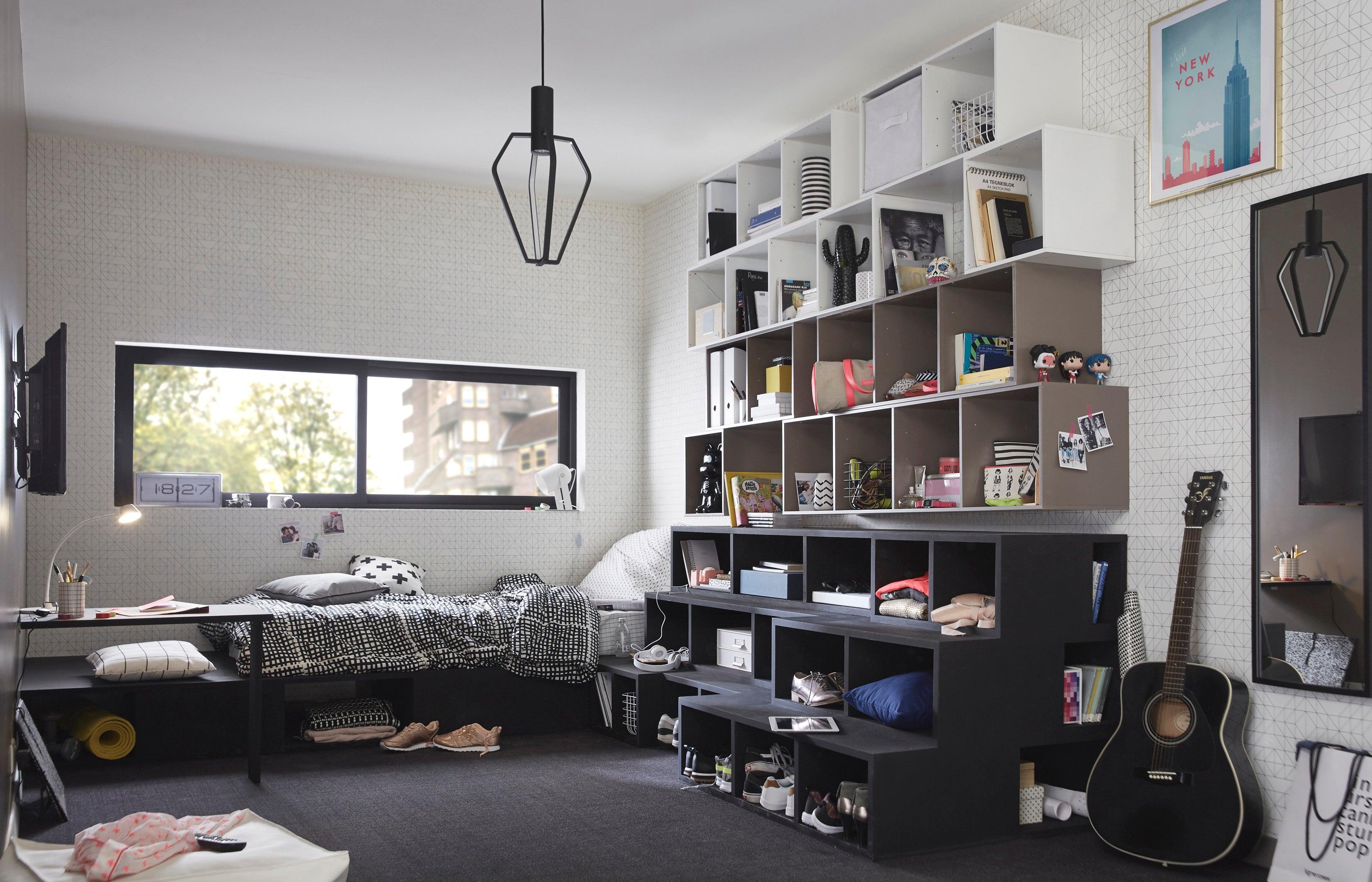 Chambre Ado Lit Mezzanine chambre d'ado : 3 idées d'aménagement | leroy merlin