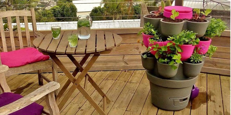 Ce Compost De Balcon Sert Aussi De Jardiniere Leroy Merlin
