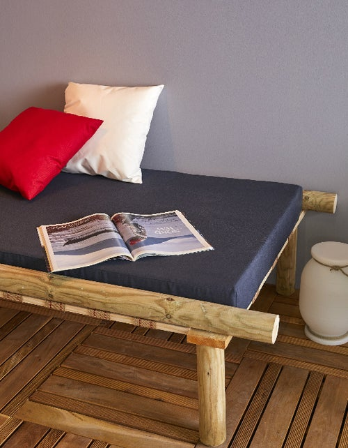 Diy Créer Une Banquette Lounge Extérieure Leroy Merlin