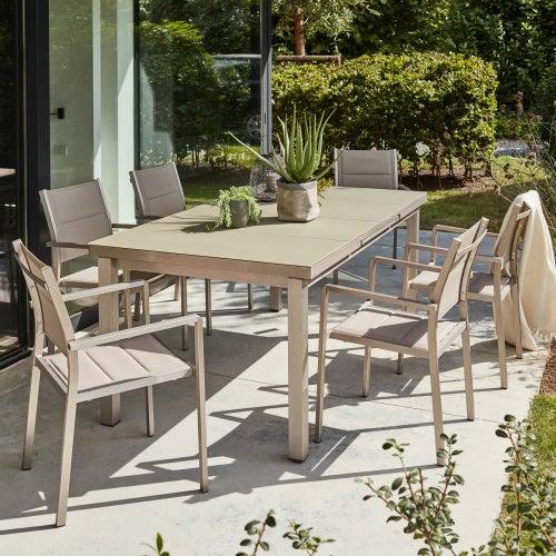 Salon de jardin, Table et Chaise Mobilier de jardin