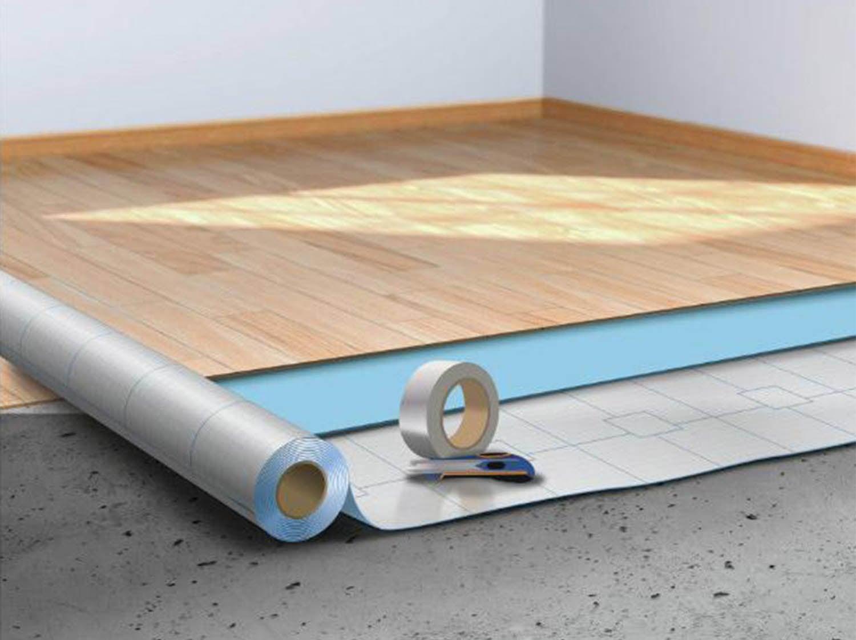 Sous couche parquet 25 m2 avec pare vapeur integr/é